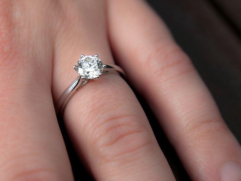 la bague de fiançailles de kate solitaire diamant bague de fiancaille ...