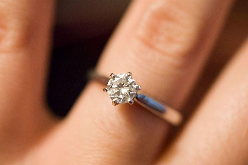 Bague De Fian 231 Ailles R 233 F 233 Rence Solitaire Diamant Isabel
